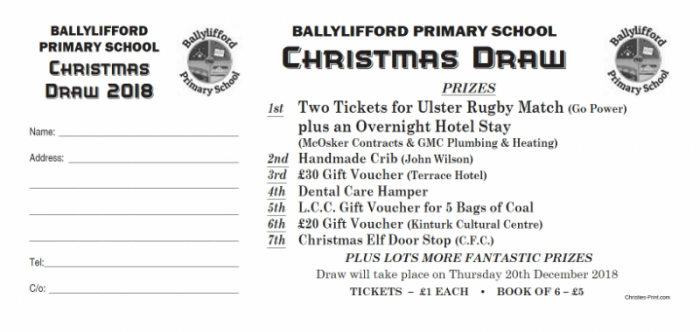 ballylifford ps christmas draw tickets online